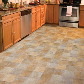 Flooring options for your rental home which is best for Kitchen vinyl flooring