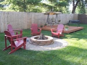 Wonderful Deck Fire Pit 300x225