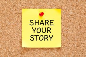 share your story post it