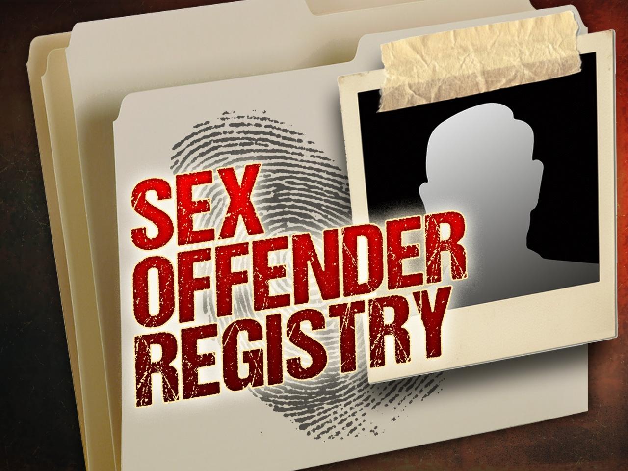 Sex offendor registry