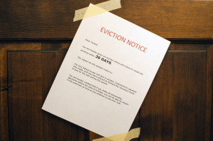Eviction process Notice