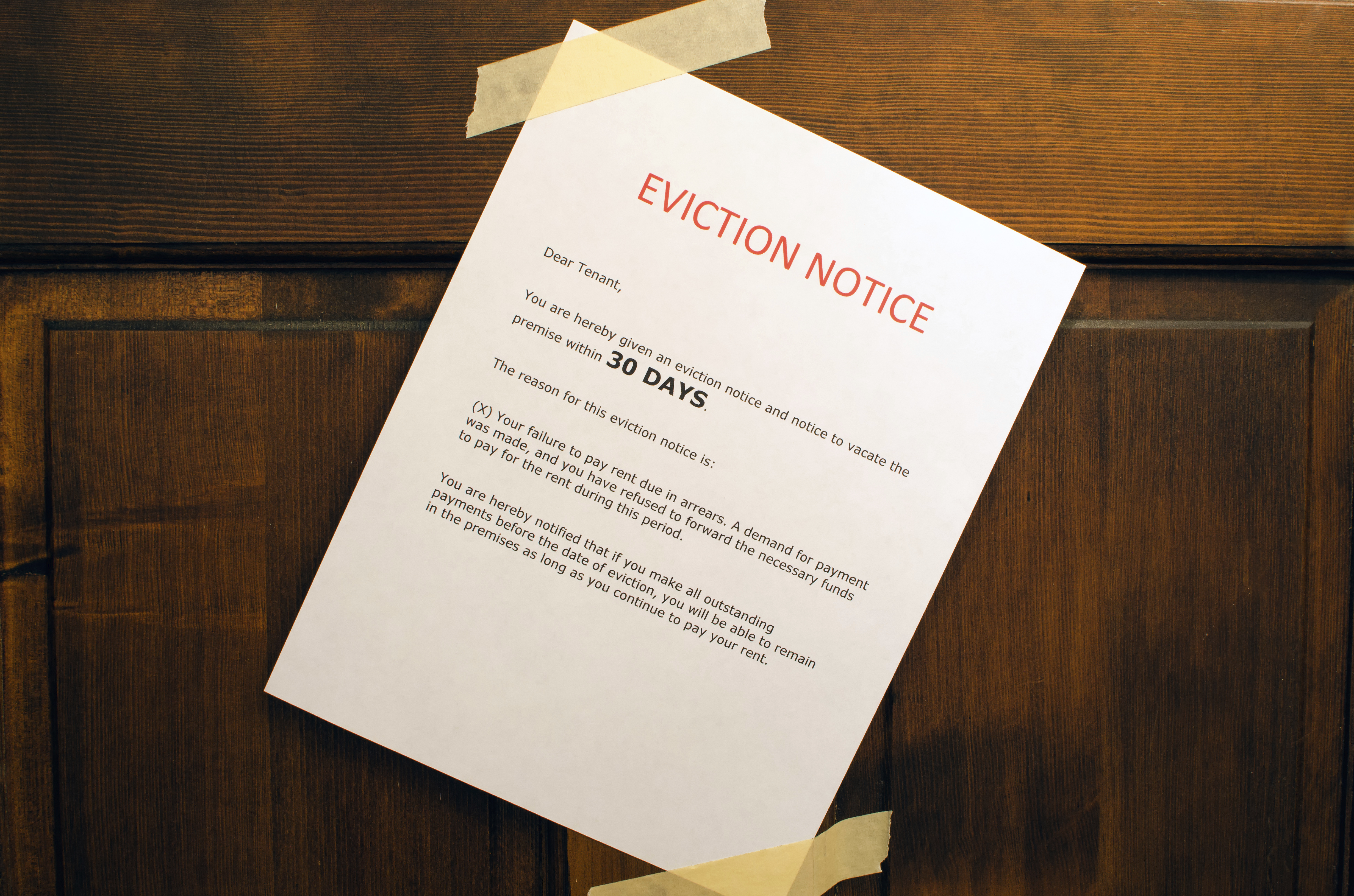 the eviction process: how does it work?