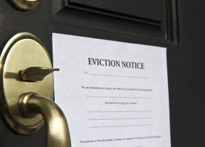 eviction process real property management
