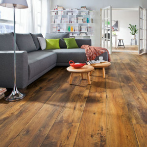 waxed wood flooring