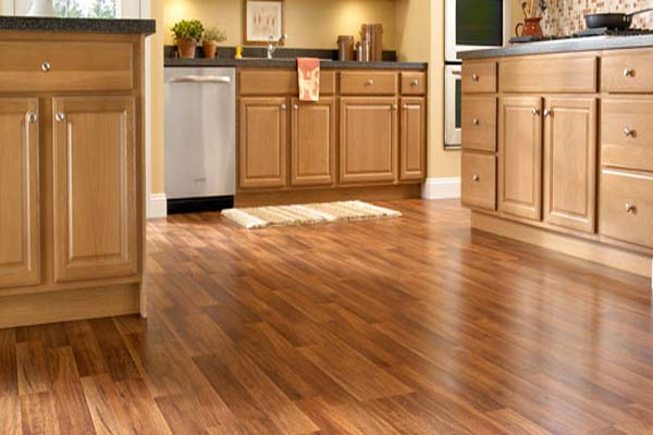 Real Hardwood Floor In Kitchen