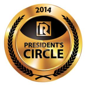 Gold 2014 President's Circle Logo