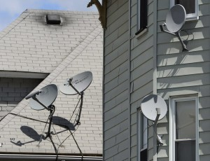 Satellite Dish Installation and Removal